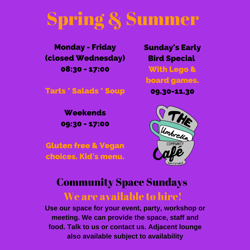 Spring summer flyers for social media