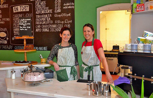 The warmest welcome of cafes in Whitstable - the Umbrella Café