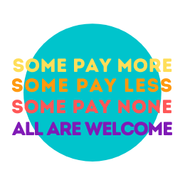 pay what you can SOME PAY MORE
